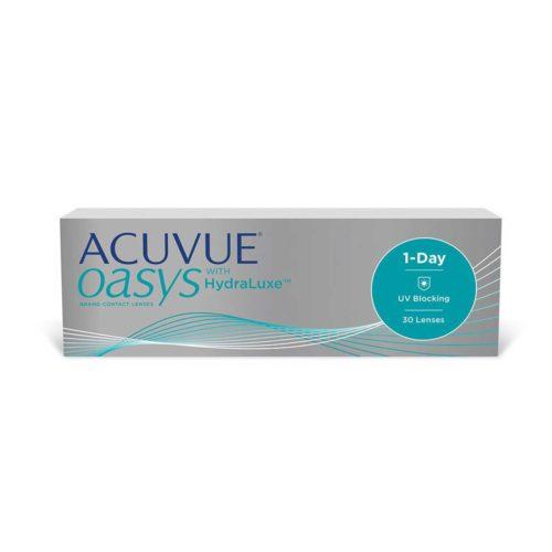 Купить контактные линзы Acuvue Oasys 1-Day with HydraLuxe