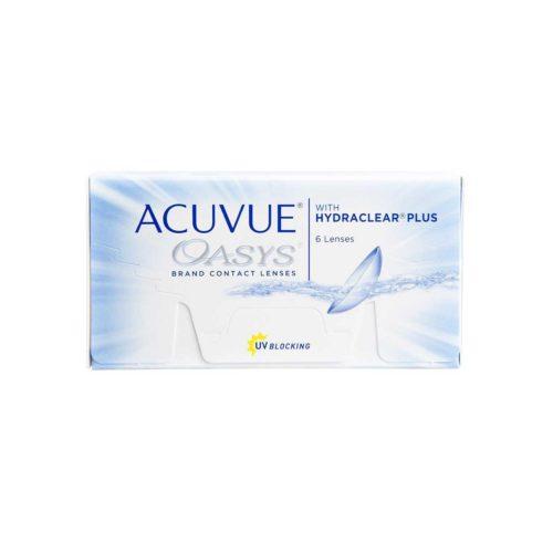 Купить контактные линзы Acuvue Oasys with Hydraclear Plus в Астане