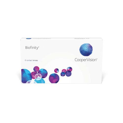 Контактные линзы Biofinity купить в Астане. Линзы по подписке. Оформить подписку