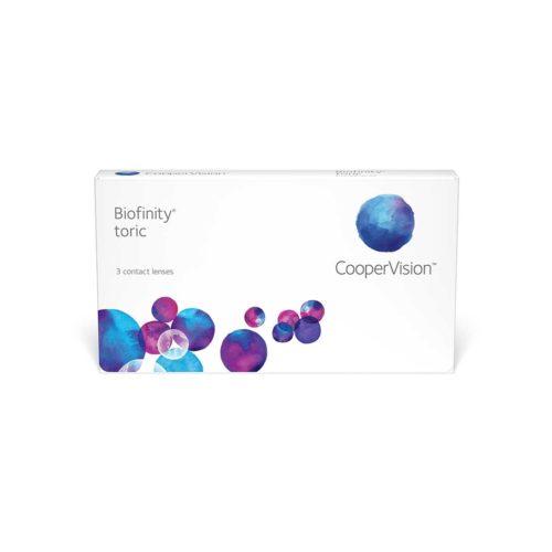 Контактные линзы Biofinity Toric купить в Астане