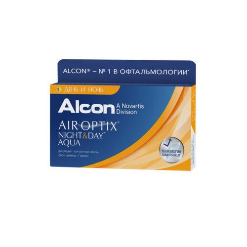 Купить контактные линзы Air Optix для астигматизма