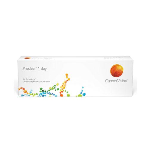 Купить ежедневные контактные линзы Proclear 1 Day
