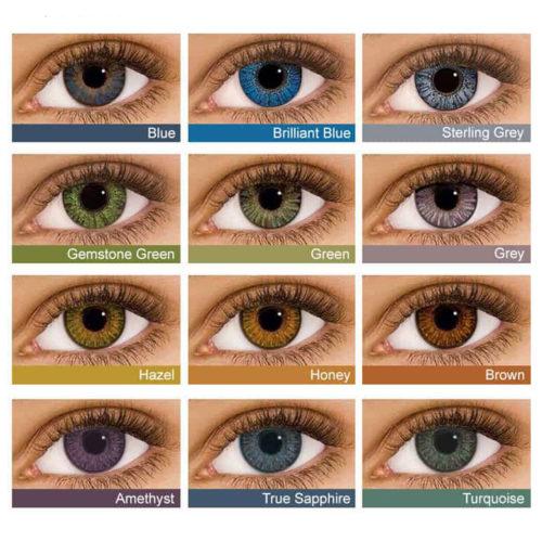 Контактные линзы Air Optix Colors купить в Астане. Линзы по подписке. Оформить подписку