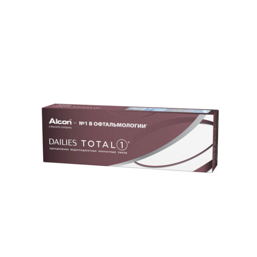 Контактные линзы Dailies Total 1 купить в Астане. Линзы по подписке. Оформить подписку