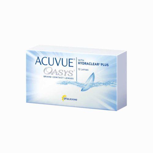 Acuvue Oasys увеличенная упаковка 12 штук